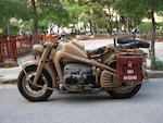 Zündapp KS750 Military Motorcycle Combination,