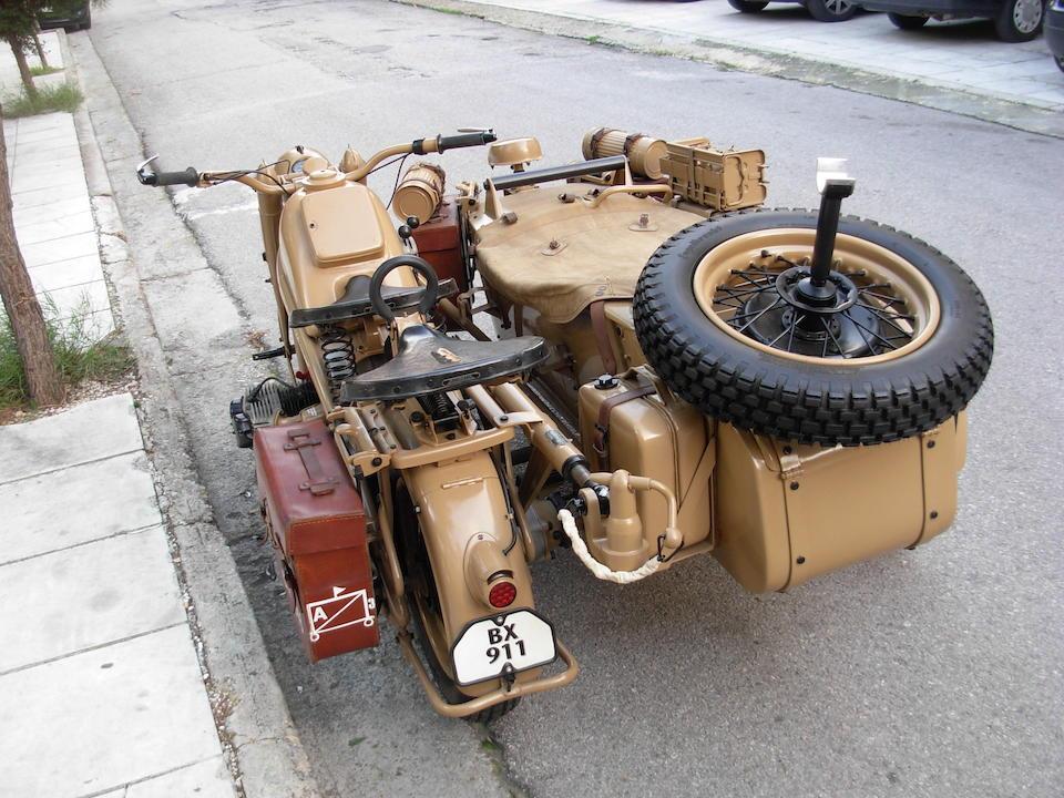 c.1941 Zündapp KS750 'Sahara' Motorcycle Combination