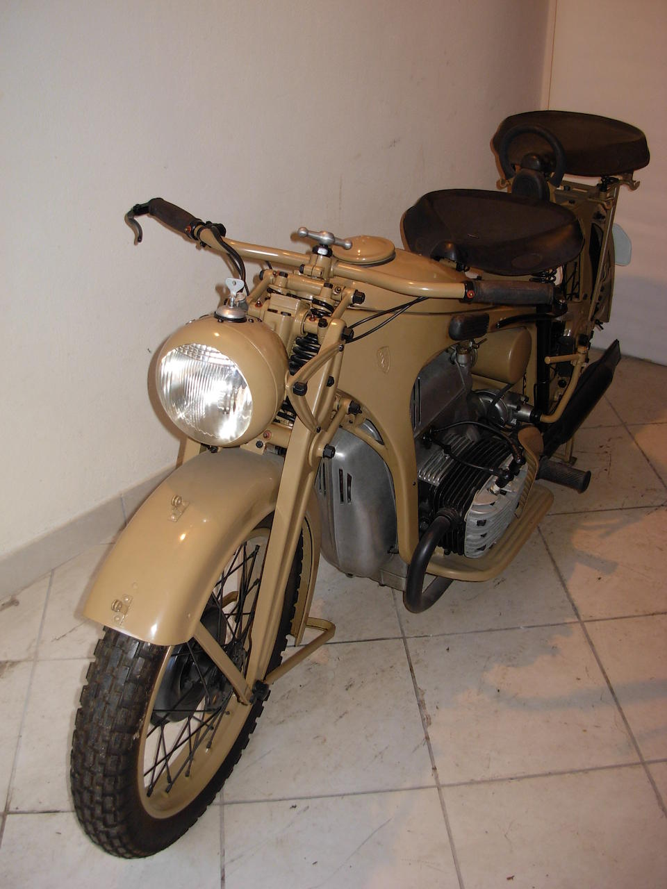c.1933 Zündapp K800 Military Motorcycle Frame no. to be advised Engine no. 141375