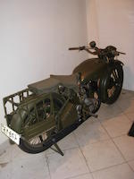 c.1944 Norton 490cc Model 16H Military Motorcycle Frame no. W91116 Engine no. W93521