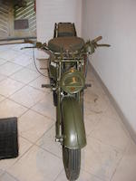 Norton 490cc 16H Military Motorcycle,