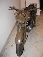 Ariel 350cc Military Motorcycle