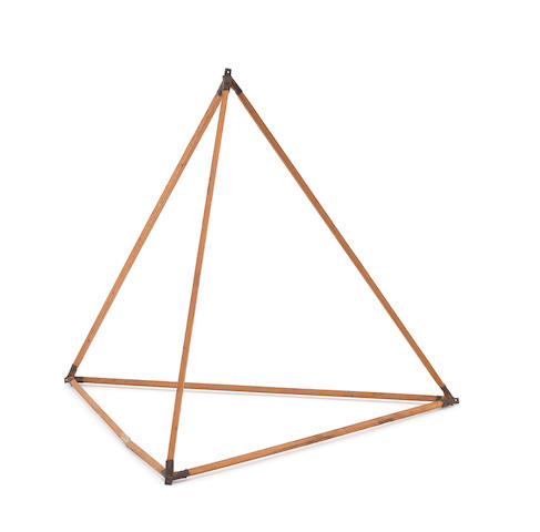 Alexander Graham Bell - a Tetrahedron kite module with full paperwork