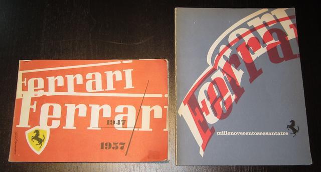 Deux publications Ferrari,