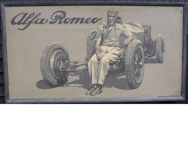 Tony Upson, 'Nuvolari - Alfa Romeo',