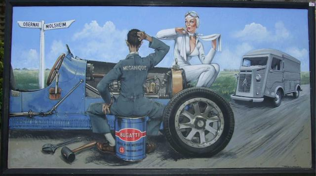 Tony Upson, 'Bugatti Mechanic',
