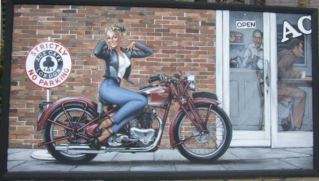 Tony Upson, 'Triumph Speed Twin',