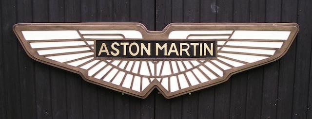 Emblème décoratif de garage Aston Martin,