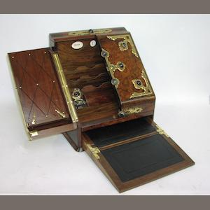 A Victorian stationery box,