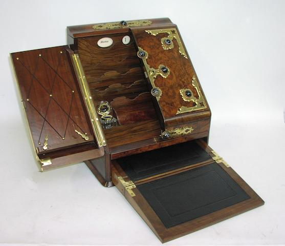A Victorian stationery box
