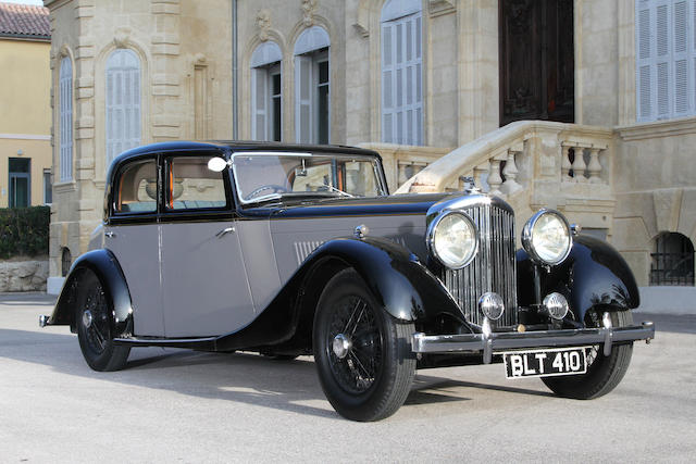 1935 Bentley 3.5 Litre Sports Saloon Coupé 2+2