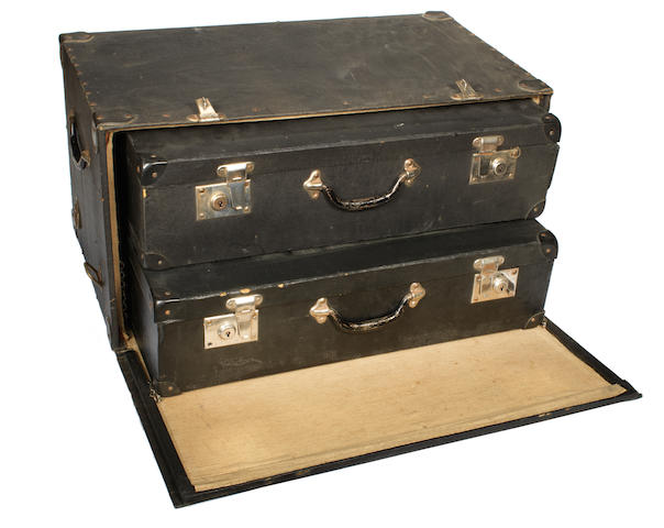 John Barker Trunk with 2 internal suitcases