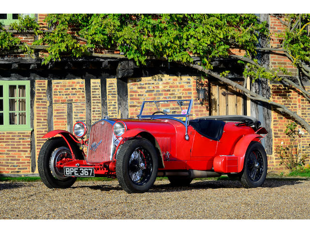 Originally the property of the 3rd Viscount Ridley 1934 to 1964 Present ownership -1969 to date,1934 Alfa Romeo 8C 2300 'Le Mans' Tourer  Chassis no. 2311221 Engine no. 2311221