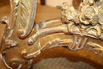 A Régence style giltwood and gesso side table, probably second quarter 19th century