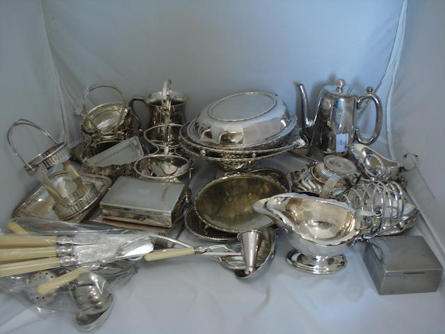 A collection of plate