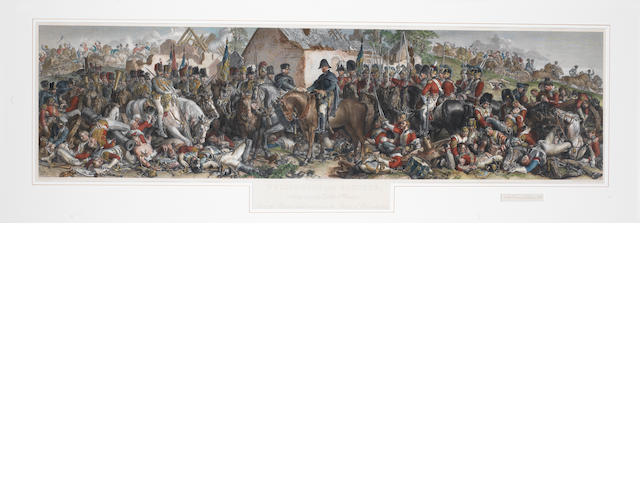Large print of Wellington/Bluchur Waterloo