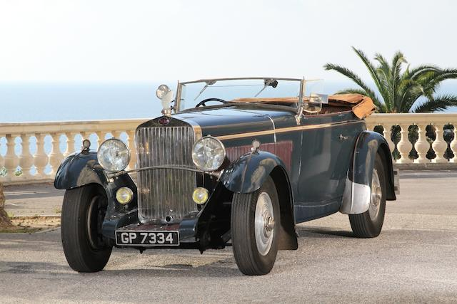 Formely the property of George Milligen,1931 Delage D8 Four Seater Sports Tourer  Chassis no. 34785
