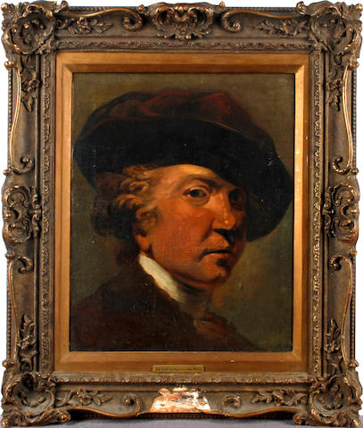 After Sir Joshua Reynolds, PRA, 19th Century Portrait of the artist