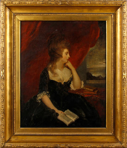 After Sir Joshua Reynolds Portrait of Mary Isabella, Duchess of Rutland, by the Rev Peters, R.A.