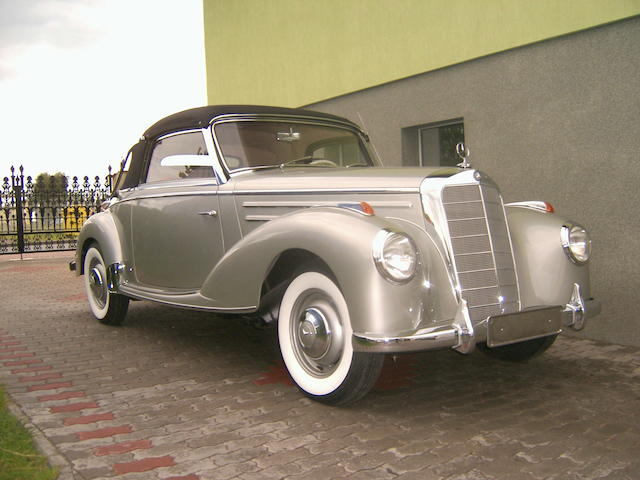 1955 Mercedes-Benz 220 Cabriolet A  Chassis no. 4500485