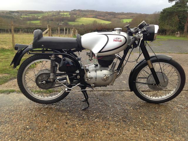 1956 Parilla 175cc MDS Frame no. 500896