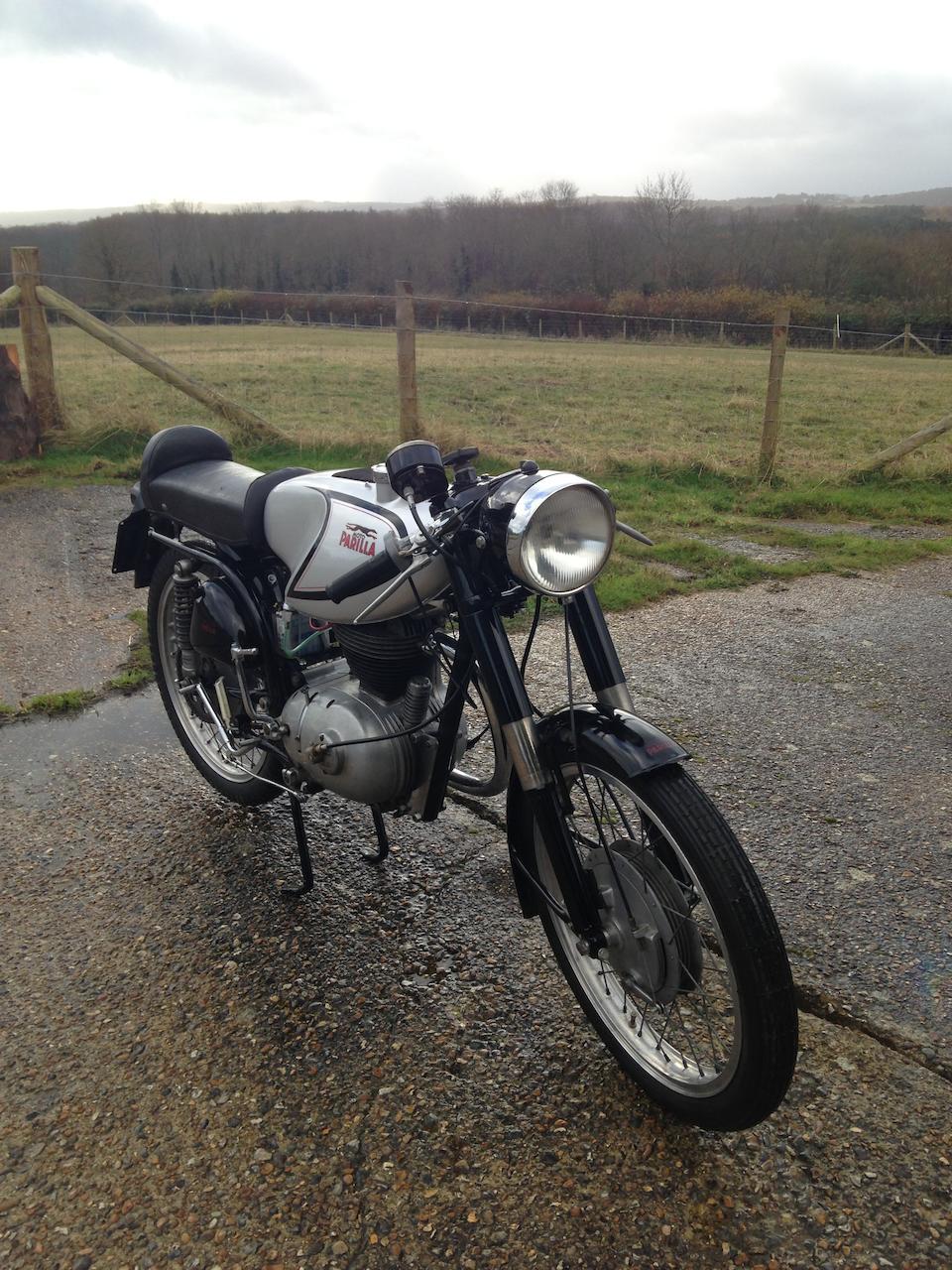 1956 Parilla 175cc MSDS Frame no. 500896