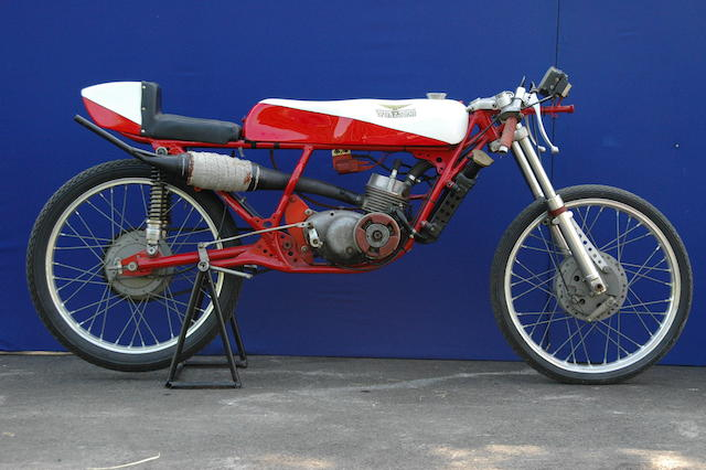1970 Guazzoni 50cc Production Racing Motorcycle Frame no. 49