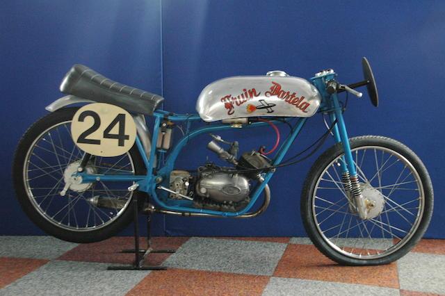 The ex-Bert Fruin, Isle of Man TT,1962 Fruin Dartela 50cc Six-Speed Racing Motorcycle Engine no. 31663