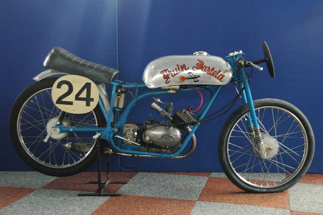 The ex-Bert Fruin, Isle of Man TT,1962 Fruin Dartela 50cc Six-Speed Racing Motorcycle Engine no. 31663