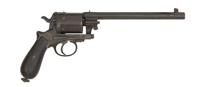 A Viennese 11.5MM Rast & Gasser Patent Six-Shot Double-Action Centre-Fire Revolver Nos. 171177 And 7142.04, Late 19th Century