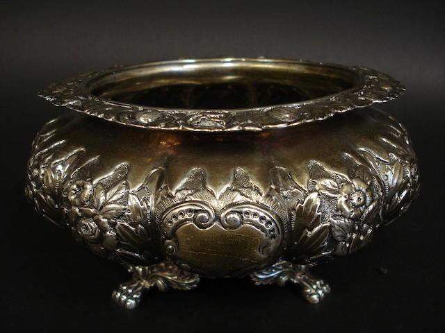A silver sugar bowl - Dublin 1830