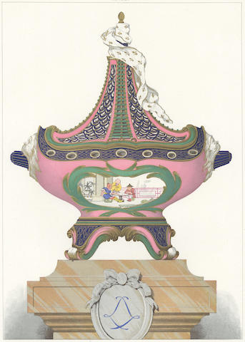 PORCELAIN. GARNIER (EDOUARD) La Porcelaine tendre de Sèvres, [c.1890]; and 2 others