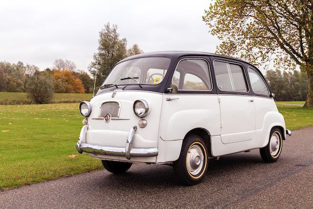 1956 FIAT 600 Multipla  Chassis no. 100.108 059877 Engine no. 100.008 764889
