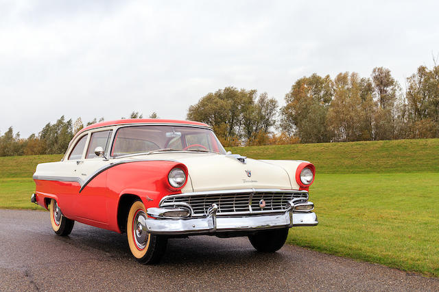 1956 Ford Fairlane Club Sedan  Chassis no. M6AT-134110