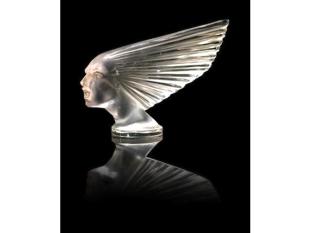 René Lalique 'Victoire' a Car Mascot, design 1928