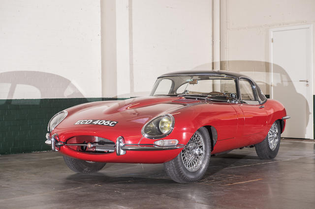 1965 Jaguar E-Type S1 Roadster