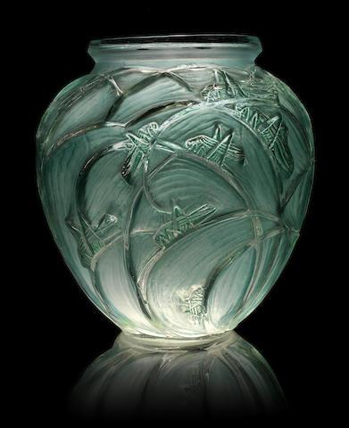 René Lalique (1860-1945) 'Sauterelles', modèle créé en 1913