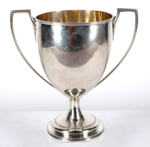 A George III two-handled cup