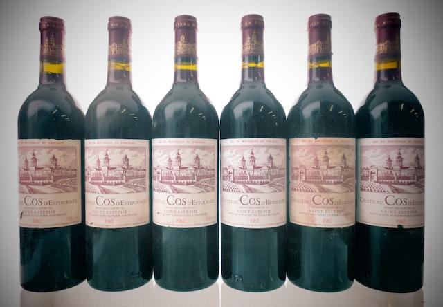 Chateau Cos d'Estournel 1982 (12)