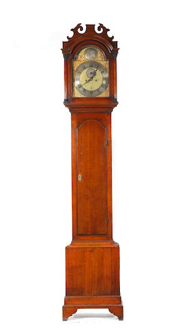 A George III oak-cased eight-day longcase clock Peter Amyot, Norwich (1733 - 1799)