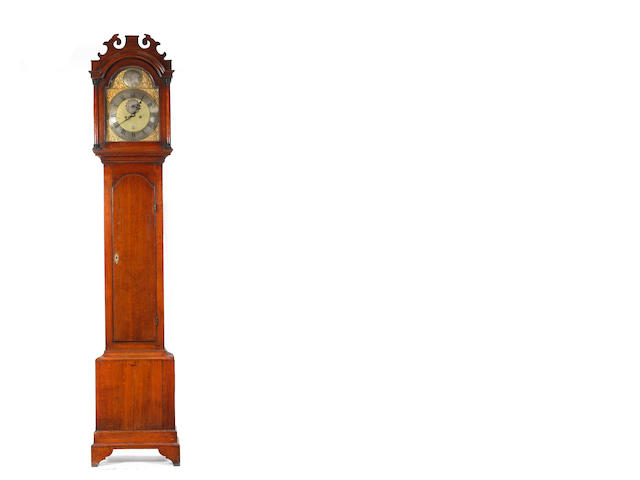 A George III oak 8 day longcase clock Peter Amyot, Norwich (1733-1799)