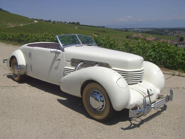 1938 Cord 812 SC Phaeton,