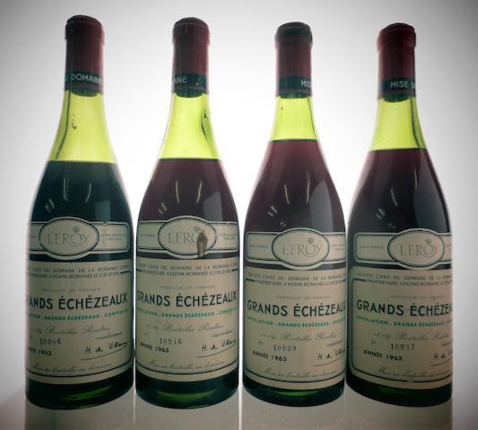 Grands-Echézeaux 1963 (5)  Grands-Echézeaux 1965 (2)