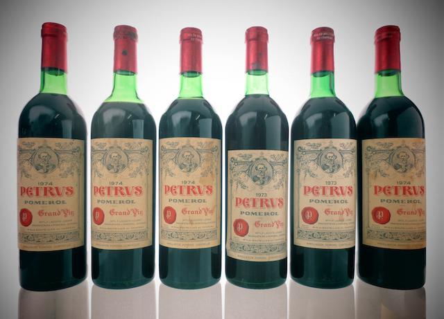 Pétrus 1973 (2)<BR />Pétrus 1974 (4)