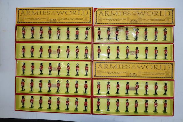 Alba Miniatures, British Foot Guards in Full Dress 120