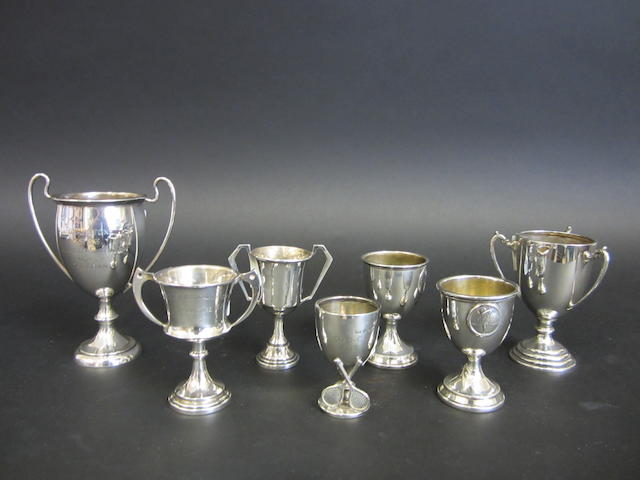 A silver trophy S. Blanckensee & Son Ltd., Chester 1930  (7)