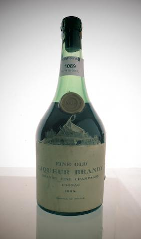 'Fine Old Liqueur Brandy' 1865 (1)