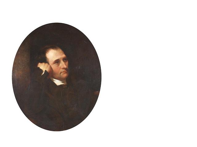 Charles Allingham Bust portrait of Samuel Compton