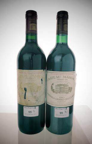 Chateau Margaux 1983 (1)<BR />Chateau Margaux 1988 (1)