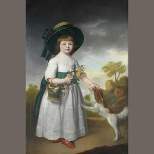 English School, late 18th Century Portrait of a young lady, said to be Mary Robinson,